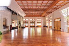 Prison Guard Training Hall - New Highlights in Taichung City Hall Design, Gym Design, Layout Design, House Design, Design Ideas, Traditional House, Traditional Design, Martial Arts Gym, Karate Dojo