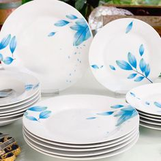 decoDoma Plates, Tableware, Kitchen, Licence Plates, Dishes, Dinnerware, Cooking, Griddles, Tablewares