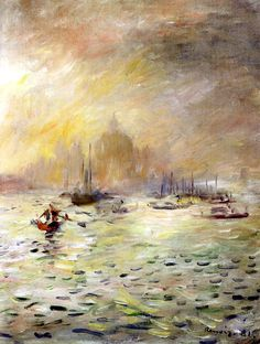 Pierre Auguste Renoir - Venice, Fog