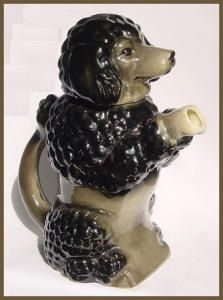 Begging Poodle Teapot! This one reminds me of a Poodle at the dog park I go to...yeah its name is Dafney fitting huh?