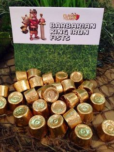Clash of Clans Birthday Party Printables, Ideas, Favors, Tent Signs, Party Activites and More!! Clash of Clans Birthday Party Sign Tents Clash of Clans Birthday Party Favor Topper Label Toppers &nb…