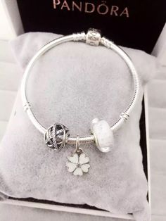 50% OFF!!! $119 Pandora Charm Bracelet. Hot Sale!!! SKU: CB01114 - PANDORA Bracelet Ideas