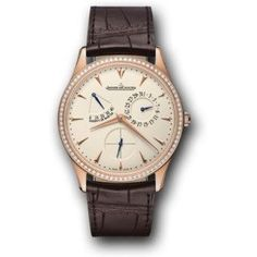 Jaeger-LeCoultre Master Ultra-Thin Power Reserve Pink Gold Men's Watch 1372501