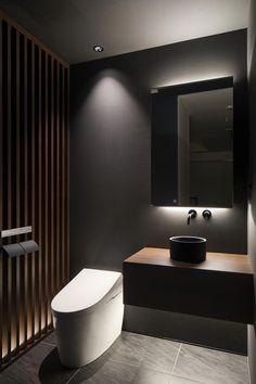 Bathroom Vanities Real Wood during Stylish Budget Bathrooms an Bathroom Mirrors Black also Stylish Bathrooms Company Limited Bathroom Design Luxury, Bathroom Interior, Bathroom Styling, Bathroom Lighting, Bathroom Mirrors, Tumblr Bedroom Decor, Modern Sink, Toilet Room, Arquitetura
