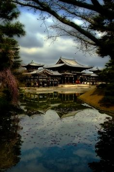 Byodo-in temple, Kyoto, Japan