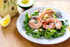 shrimp-arugula-salad