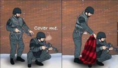Cover me! - lol