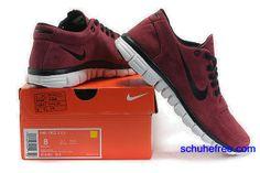 the latest 1ca68 cd9f8 Damen Nike Free 3.0 V2 Anti -Pelz-Schuhe Wine Red