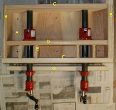 christophermerrill.net DIY Moxon vise for about $15 worth of materials