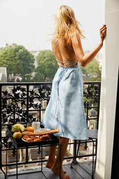A Parisian living in London, Camille Charrière is French chic incarnate. To mark Reformation's launch of its new summer 'Almost French' collection, for which she is the muse, the French it-girl reveals her style secrets to Vogue.fr.