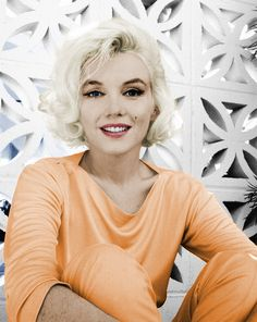 Marilyn Monroe in 1962 about three months before her death at the age of 36