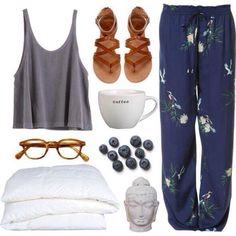 my weekend life. minus the shoes and the blueberries. but the incense...yes!