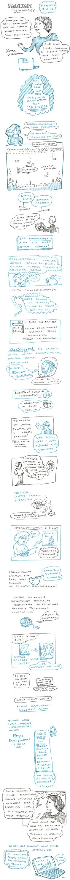Taksi Absurdistaniin » Blog Archive » Hanna Nikkanen: Journalismi ja parempi tiedonhaku. Hieno esitys journalismin tiedonhausta #mediakasvatus