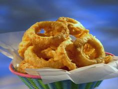 Beer Battered Onion Rings Recipe : Guy Fieri : Food Network - FoodNetwork.com