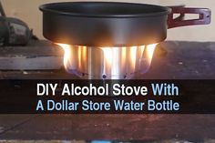 Today I want to share a really cool tutorial I found by Survivalist Prepper. For a lot of people, money is tight, so buying little camp stoves for your bug out bag or whatnot can be a challenge. This is why it's worth learning how to make your own things. This DIY alcohol stove requires a few cheap supplies you might already have and is fairly easy to make. What you need: Drill. Dremel. 70% rubbing alcohol. Sandpaper. 2 inch piece of wood. Sharpie. Rubber mallet. Metal water bottle. What ...