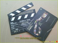 My Product : undangan MOVIECLIP Anisa-febri... real..real...camera,... action!!!!