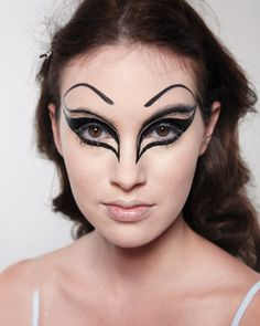 You don't have to invest in costume store cosmetics to create this wicked Halloween look. Everything you need to pull off this dramatic face is already in your makeup bag.
