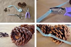 Okay I couldn't resist this last garland tutorial from Twig and Thistle…Can you imaging using those cinnamon scented pine cones that pop up this time of year. This project is so easy to do and the house smells like cinnamon! See below for instructions on how to make your own! Visit Twig and Thistle often …