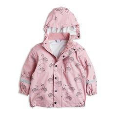 Get ready for outdoor fun in all kinds of weather with this waterproof rain jacket. Pair with rain trousers and rubber boots to stay dry all the way.