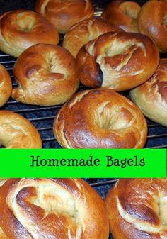 Broken Teepee: Homemade Bagels - Recipe