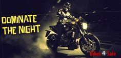 Dominar 400 Motorcycle. Domiate The Night.