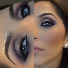 Brown and Taupe Cut Crease