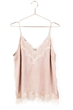 Blush Lace Cami Top