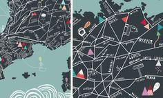 No orientan pero inspiran: los mágicos mapas de Estudio Crispis