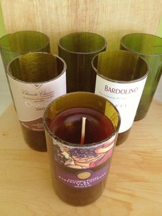 recycle wine bottles diys - Bing Images