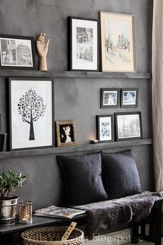 Industrial Interior Design, Beautiful Interior Design, Dream Home Design, House Design, Living Spaces, Living Room, Nordic Design, Home Look, Decoration