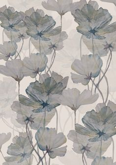 Floral pattern by Abigail Hutton, from her blog