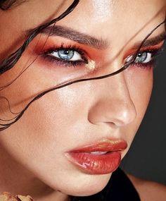 "jordydior: ""Adriana Lima for Maybelline. Pretty Eyes, Beautiful Eyes, Candice Swanepoel Makeup, Adriana Lima Style, Brazilian Models, Kendall And Kylie Jenner, Selena Gomez, Maybelline, Ideas"
