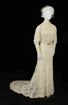 1936 Wedding Dress.