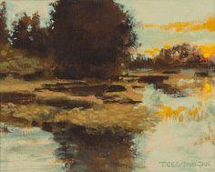 """""""Lake Side""""  by  Trevor Geoghan"""