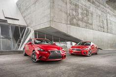 2014 Infiniti Q50S vs. Lexus IS350 F Sport - Motor Trend