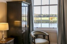 Enjoying views of the magnificent River Tweed, these rooms are ideally located for watching the world go by. Kelso Scotland, Luxury Rooms, House Made, Luxury Travel, Tweed, River, Bedroom, Wedding, Beauty
