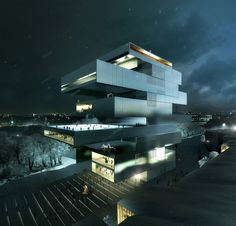 heneghan peng win competition for new NCCA, moscow, russia