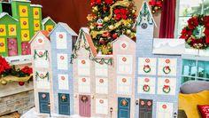 DIY Countdown to Christmas Keepsake Ornament Calendar