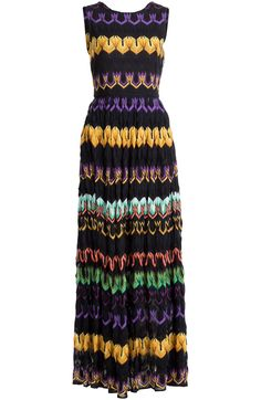 Sleeveless Printed Maxi-Dress detail 0
