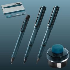 Lamy Safari Petrol Pen Collection