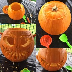 Pumpkin Carving at Manydown Farm Basingstoke