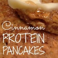 Looking for high protein breakfast ideas to serve the kids? These cinnamon protein pancakes are yummy and filling and above all -- easy!! So you can make them this morning!