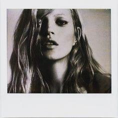 Kate Moss by Helmut Newton.