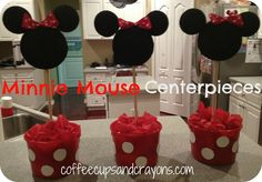 Minnie Mouse Styrofoam ball Decorations