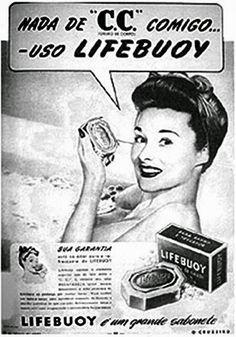 Sabonete Lifebuoy (Fim do C.C.) - Anos 40