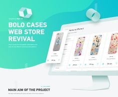"""Check out this @Behance project: """"Bolo: Smartphone Cases Online Webstore Revival"""" https://www.behance.net/gallery/54315265/Bolo-Smartphone-Cases-Online-Webstore-Revival"""