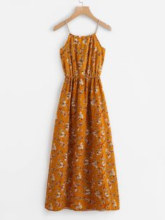 SheIn offers Calico Print Faux Pearl Detail Cami Dress & more to fit your fashionable needs. Source by laraxshe - Day Dresses, Dresses Online, Dress Outfits, Casual Dresses, Casual Outfits, Fashion Dresses, Floral Dresses, Floral Maxi, Fashion Clothes