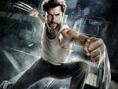 Hugh Jackman may kick butt in the X-Men franchise as Wolverine but, the actor didn't have the happiest childhood growing up. Currently, Hugh Jackman is promoting his new movie Pan where he plays Bl… The Wolverine, Wolverine Poster, Wolverine Movie, Deadpool Wolverine, X Men, Hugh Jackman Wolverine Workout, Marvel Universe, Wolverine Pictures, Marvel Comics