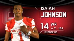 Houston Cougar Football - Signing Day Player Card
