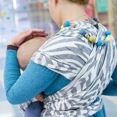 Fidella babywrap Shebra -smoke- hemp Woven Wrap, Baby Wraps